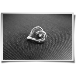 Swirling Heart Pendant