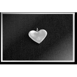 Boxed Heart Pendant