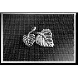 Twisty Leaf Pendant
