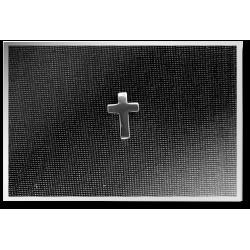 Boxed Cross Pendant