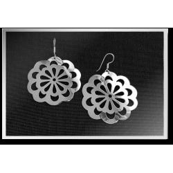 Large Mandala Earrings