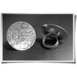 Hammered Convex Ring