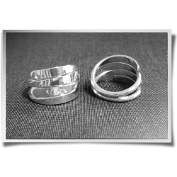 Four Strand Wrap Ring