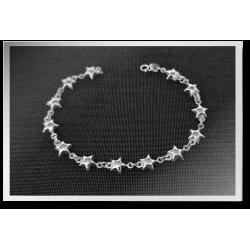 Bobbly Star Bracelet