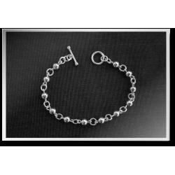 Ball and Link Bracelet