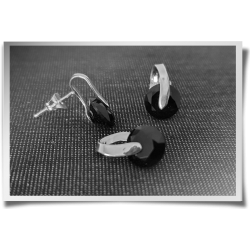 Quirky Onyx Earring &...