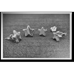 Teeny Star Studs