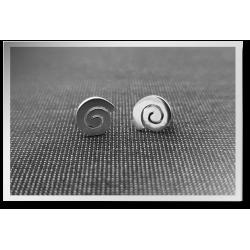 Swirly Stud Earrings