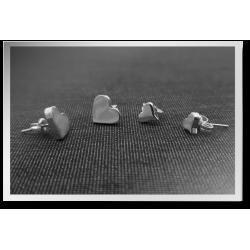 Lovely Heart Studs