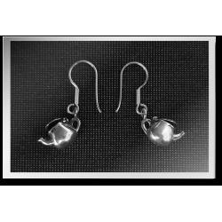 Dangling Teapot Earrings