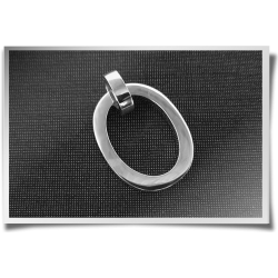 Square Tube Oval Pendant